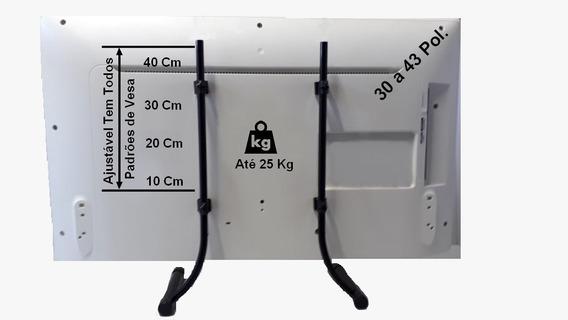 Base (pé) Para Tvs De 30 A 43 Qualquer Modelo C/parafusos
