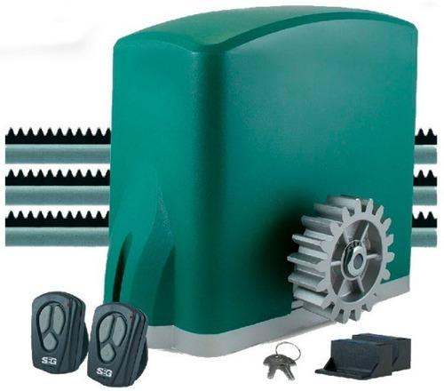 Kit Motor Portón Corredizo Seg Ch800 Automátización 800kg