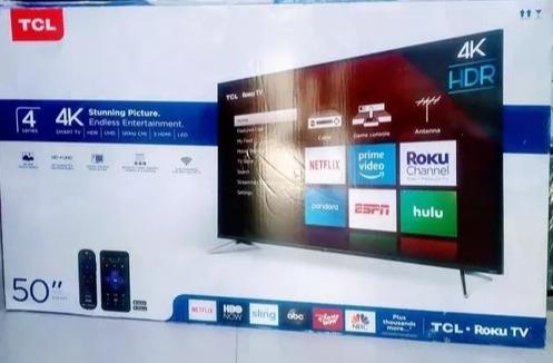 Televisor Tcl De 50 Pulg, Nuevo Smart Tv/4k/garantía /tienda
