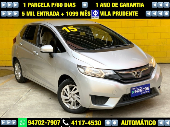 Honda Fit 1.5 Lx Automatico Metro Sao Lucas 5mil Entrad+1099