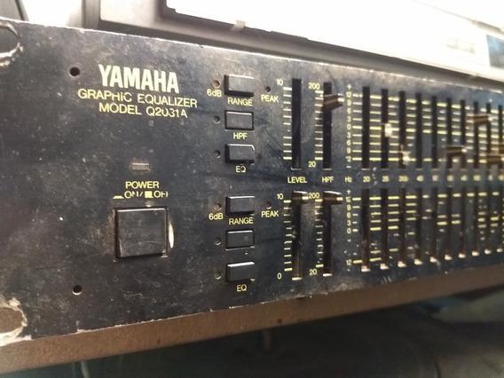 Equalizador Yamaha Q2031a Sucata Vendo Peças Q-2031