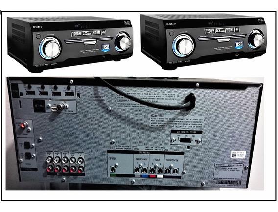 Receiver Sony Str-km3 5.2 Usb Hdmi 3d Muteki 1200w Com Nf