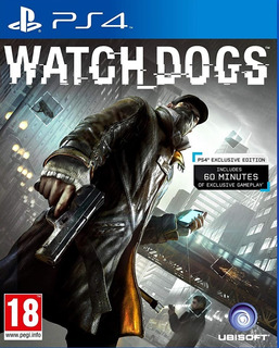 Watch Dogs 1 Playstation 4 Ps4