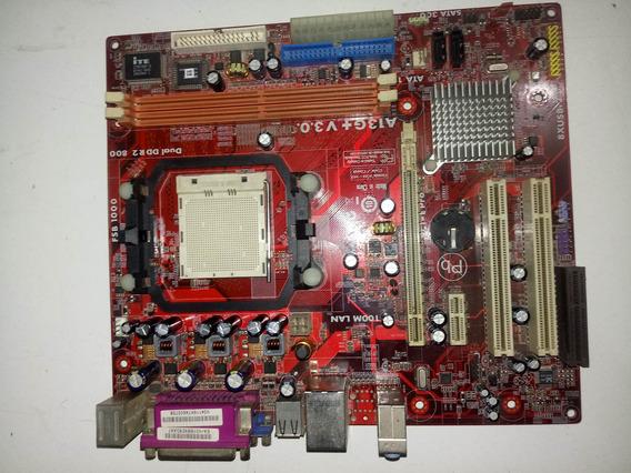 Placa Mãe A13g+ V3.0 Athlon 64 X2 3600+ 2x4gb Ddr2 800mhz