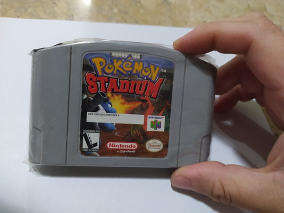 Pokémon Stadium - Nintendo 64 Original