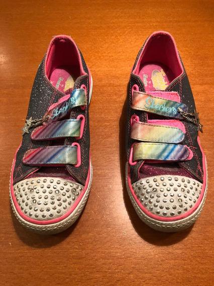 Zapatillas Skechers Niña Con Luz Twinkle Toes