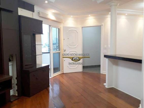 Apartamento Com 3 Dormitórios À Venda, 130 M² Por R$ 1.050.000,00 - Tatuapé - São Paulo/sp - Ap0701