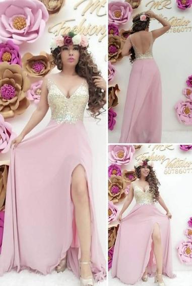 Vestido De Fiesta Importado !!!