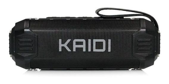 Caixa De Som Bluetooth Kaidi Kd-805 Prova D`água. Original