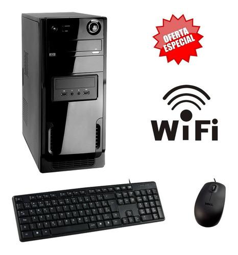 Cpu Pc Intel Barato 4g Wifi Estudos Casa Escritorio Oferta