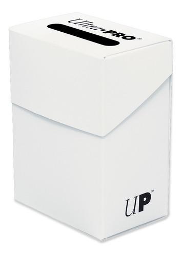 Deck Box Ultra Pro 80 Cards - Cor Branco