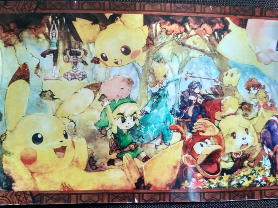 Poster Super Smash Bros Ultimate Modo Clasico Nintendoswitch