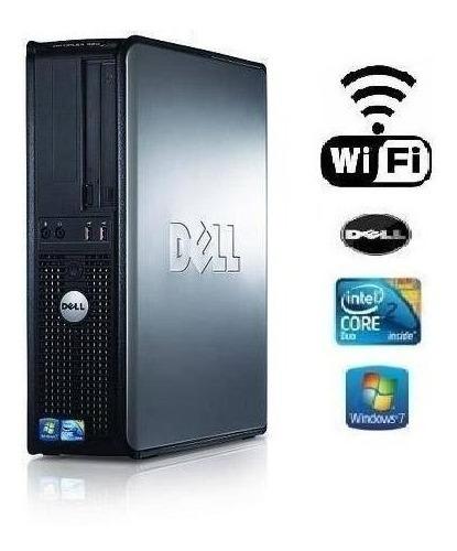 Dell 380 Ou 780 Optiplex 2 Gb Ddr3 Hd 250 Gb  + Wifi