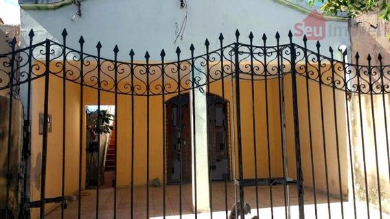 Casa Residencial À Venda, Montese, Fortaleza - Ca0257. - Ca0257