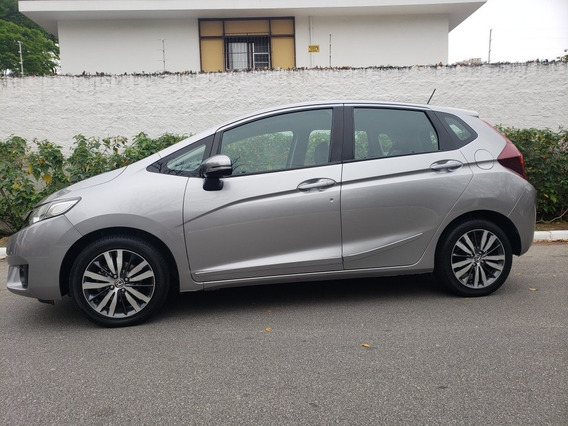 Honda Fit 1.5 Exl Flex Aut. 5p 2015 Único Dono