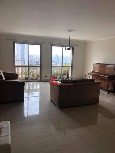 Apartamento Com 4 Dormitórios À Venda, 180 M² Por R$ 800.000,00 - Chácara Inglesa - São Bernardo Do Campo/sp - Ap2885