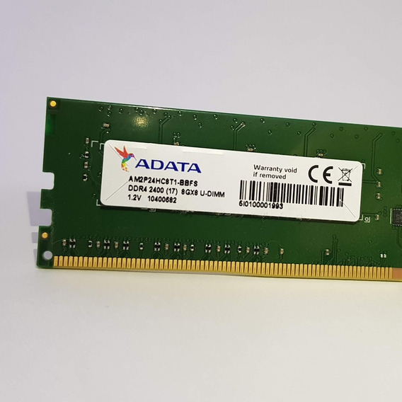 Memoria Desktop Adata Premier 8gb Ddr4 2400mhz Pc4 19200