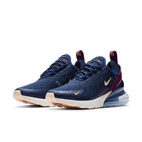 Tênis Feminino Nike Air Max 270 Azul Original - Footlet