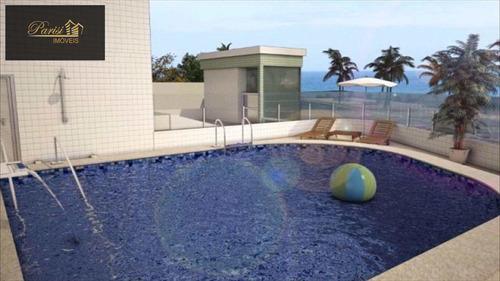 Imagem 1 de 9 de Apartamento Com 1 Dorm, Caiçara, Praia Grande - R$ 272.000,00, 46,8m² - Codigo: 230 - V230