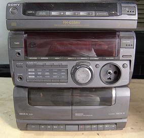 Micro System Sony Fh-g33av Para Tirar Peças