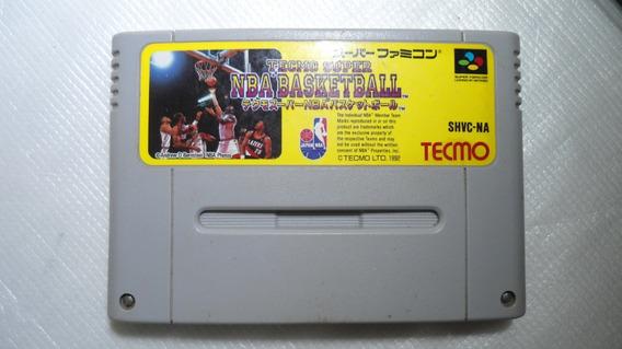 Nba Basketball Nes Super Famicom Original Frete Grátis