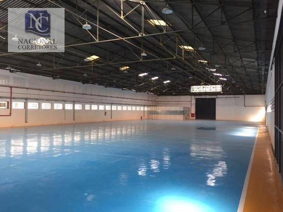 Galpão Para Alugar, 8100 M² Por R$ 172.000,00/mês - Jardim Vera Cruz - São Bernardo Do Campo/sp - Ga0422