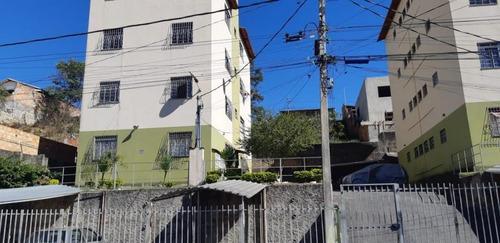 Apartamento Para Venda Em Ribeirão Das Neves, Nova União, 2 Dormitórios, 1 Banheiro, 1 Vaga - V155_1-1162841