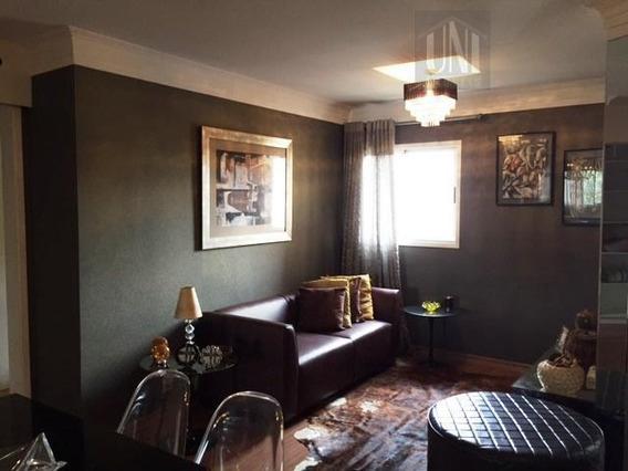 Apartamento Com 1 Dormitório Para Alugar, 49 M² Por R$ 2.500,00/mês - Casa Branca - Santo André/sp - Ap1451