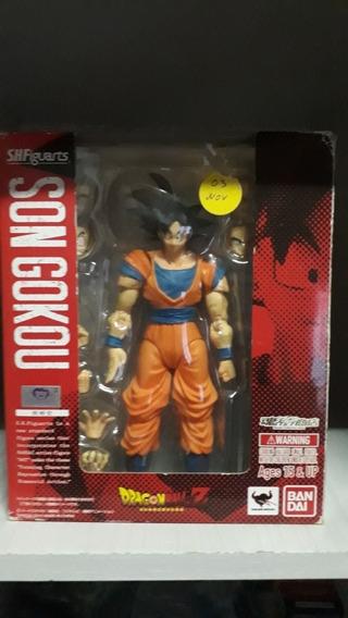 S.h Figuarts Son Goku 1.0 Dragon Ball Z Bandai Raridade