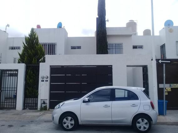 Casa En Renta Amueblada En Privada Santa Barbara Zona Indust