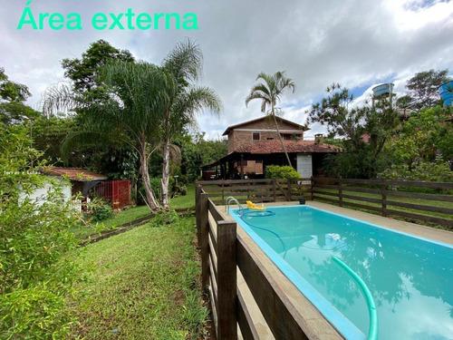 Sítio / Chácara Para Venda Em Igarapé, Vale Dos Coqueiros, 4 Dormitórios, 2 Suítes, 4 Banheiros, 6 Vagas - Sitio02_1-1118396