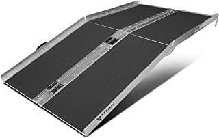 Titan Rampas 5 'ft Aluminio Multifold Scooter Silla De R