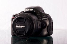 Nikon D5100 +lente 35mm Afs