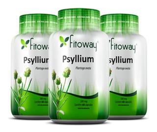 Psyllium 500mg - 3x 60 Cápsulas - Fitoway