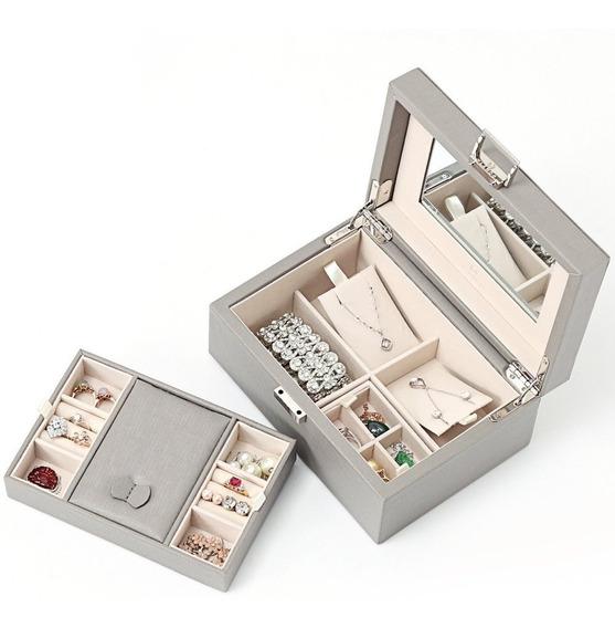 Caja Organizadora Joyero Pequeño Elegante Moderno Juvenil