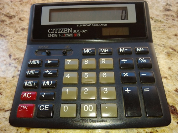 Calculadora Citizen Sdc-821