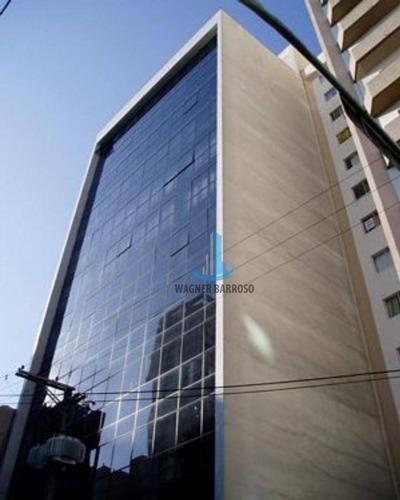Prédio Comercial Para Venda No Centro De Curitiba Com 11 Andares - Ac0004