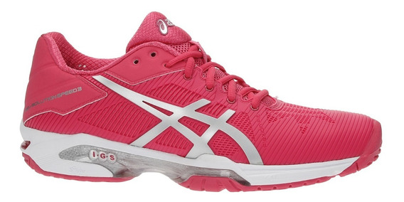 Tenis Asics Gel Solution Speed Rosa Para Tenis