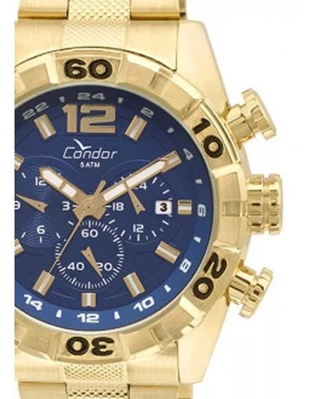 Relógio Condor Masculino Covd33aa/4a Dourado - Original