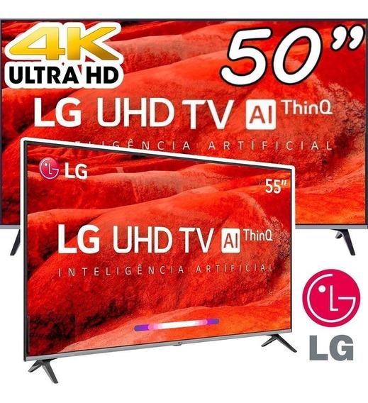 Smart Tv 4k Led 50 LG 50um7510psb Wi-fi Hdr - Inteligência