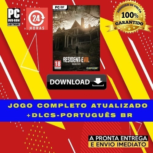 Resident Evil 7 Biohazard Gold Edition Pc Portugues + Brinde