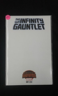 Comic Blank The Infinity Gauntlet