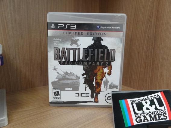 Battlefield Bad Company 2 Ps3 Usado Midia Fisica