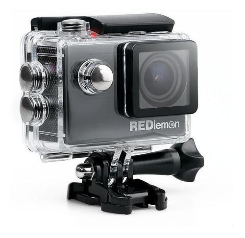 Cámara deportiva Redlemon Action Cam 4K NTSC/PAL negra