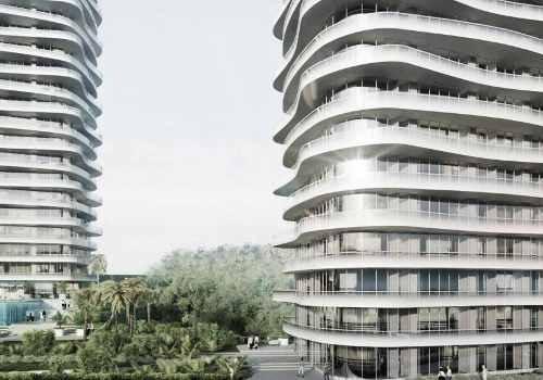 Departamentos Modernos En Torre Montevideo En Venta