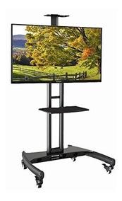 Pedestal Para Tv Rack De Chão 32 A 75 Suporte A06v6 Elg