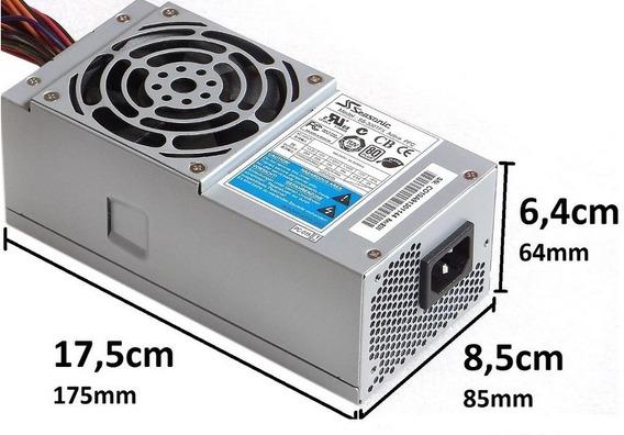 Fonte Ss-300tfx Slimline Seasonic Dell Ibm Hp 4 Sata 300w