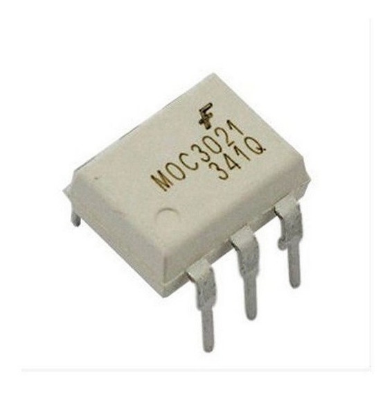 Opto-isolator Optoacoplador 4n35 Moc3043 - Kit C/ 5 Peças