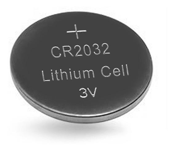 50 Un = Bateria Cr2032 Botão 3v Lithium Cell Lítio Universal