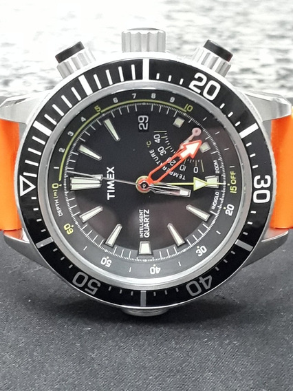 Relógio Timex Intelligent Quartz - T2n810 - Profundímetro